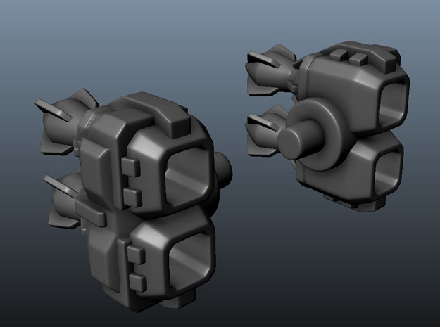 TF Launchers ULTR-MGNS 3d printed