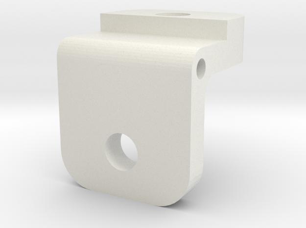 Rear Sight Insert in White Natural Versatile Plastic