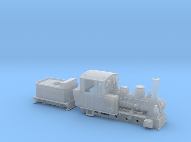 BR 99 3351-53 der MPSB in Nf (1:160) 3d printed