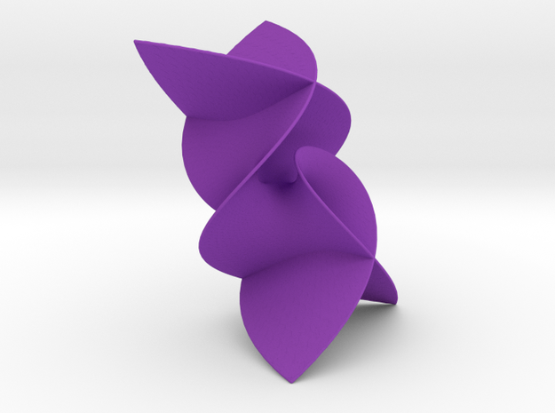 Enneper2Surface in Purple Strong & Flexible Polished