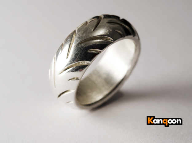 Ray Zing - Ring in Polished Silver: 5.25 / 49.625