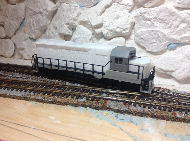 ICG 3075 GP40X (N) in Smoothest Fine Detail Plastic