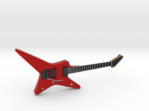 Star Shape Guitar 1:18 in Full Color Sandstone