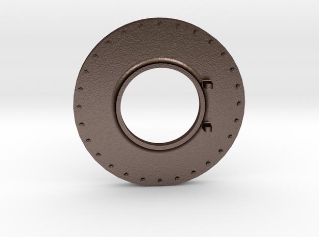 No. 23 Smokebox Front #2253 .625 Plus 1% in Matte Bronze Steel