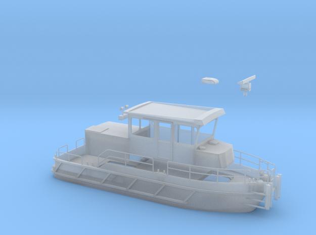 Arbeitsboot WSA Crange in Smooth Fine Detail Plastic