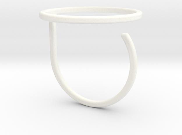 Circle ring shape.