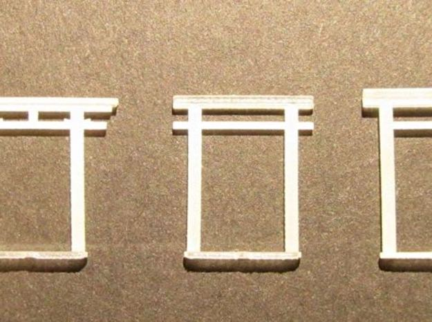 Torii all versions, small set in Smooth Fine Detail Plastic