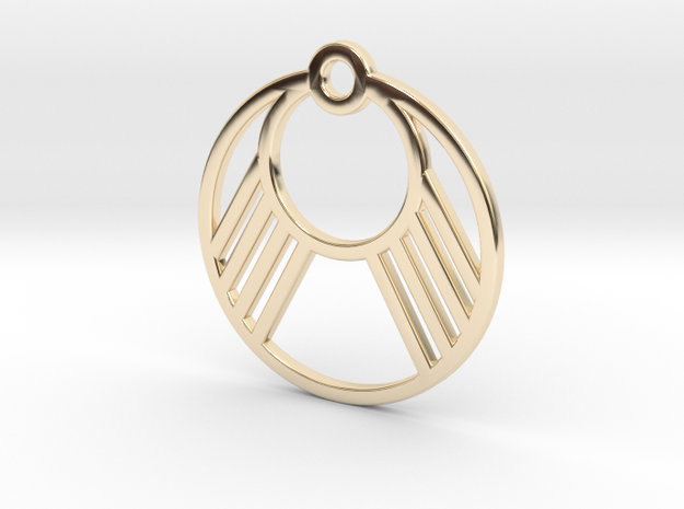 M127 in 14k Gold Plated