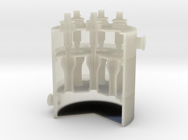 Cut-Away Reactor 3d printed