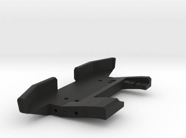Jeep Tj Custom Kit - Front Bumper With Servo Mount in Black Strong & Flexible