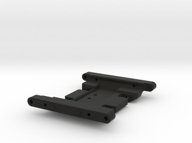 Jeep Tj Custom Kit - Scx10 Skid For Rc4wd Killer in Black Strong & Flexible