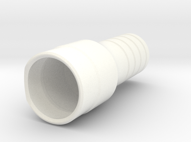 XDNP25 X6 in White Strong & Flexible Polished