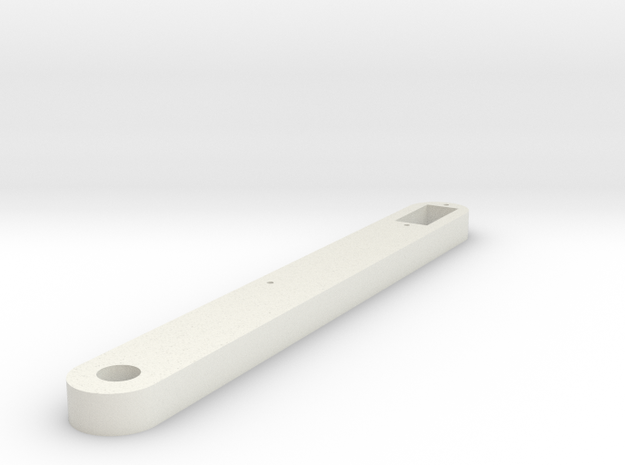 Docking End Affector Strut Ver 2 in White Strong & Flexible