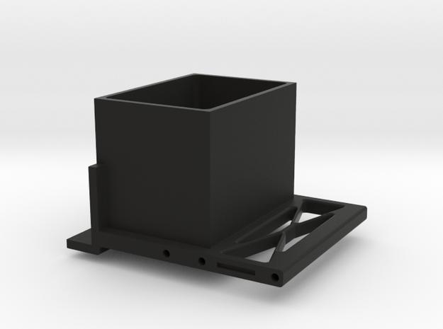 Jeep Tj Custom Kit - Receiver Box in Black Natural Versatile Plastic