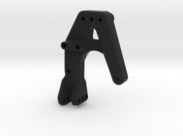 Jeep Tj Custom Kit-FrontShock Mount Dx for Panhard in Black Natural Versatile Plastic