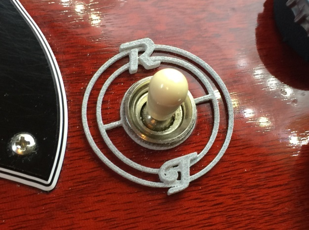 Pickup Selector Plate - Magneto R/T With Circle Tr