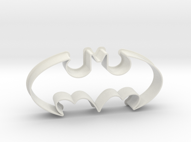 Batman 1998 - cookie cutter in White Natural Versatile Plastic