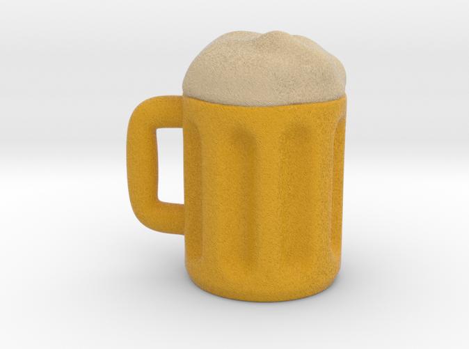 Countryballs Germany beer mug- Full Color Sandstone