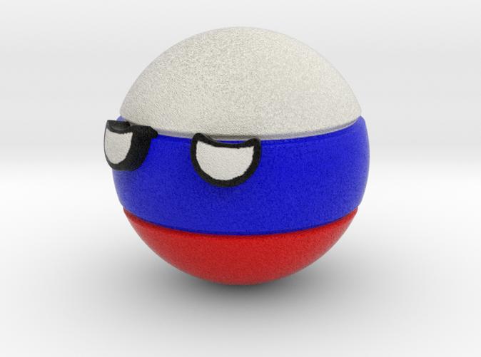 Countryballs Russia- Full Color Sandstone