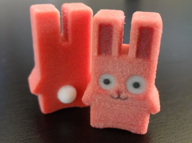 Full Colour Sandstone Freezer bunny