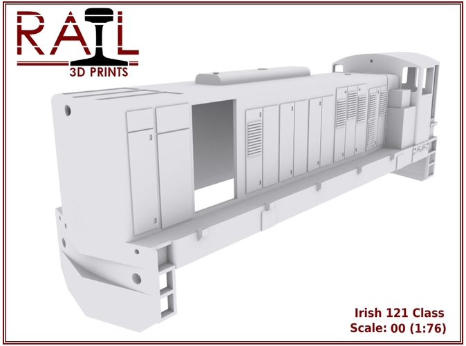 Render of the 121 Class WSF body shell.