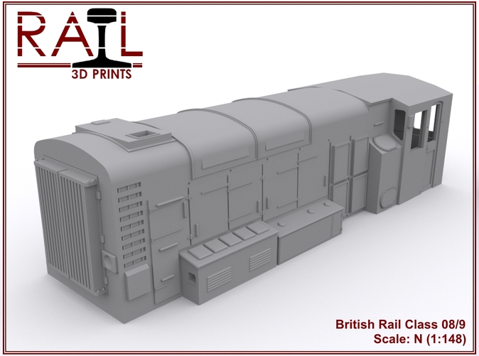 Render of the assembled 08/9 model.