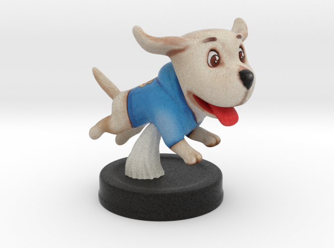 Puppies Out -  Labrador  - Full Color Sandstone