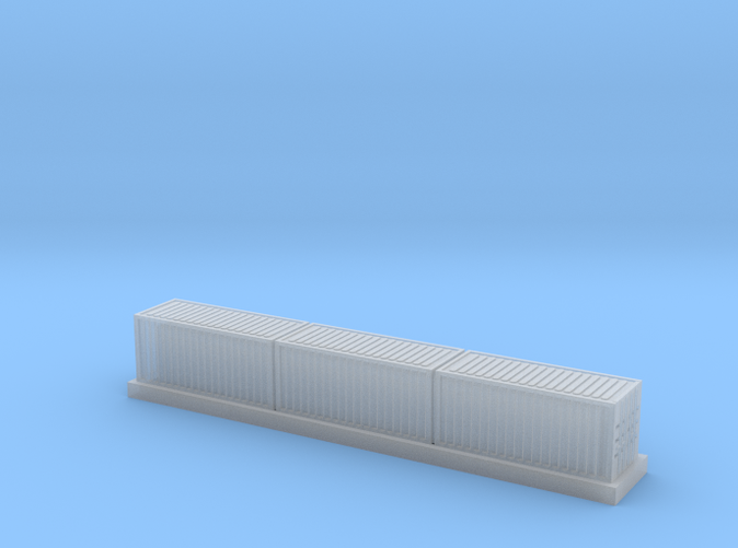 Container wagon, FUD