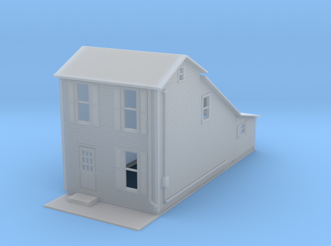 two Story House Z scale