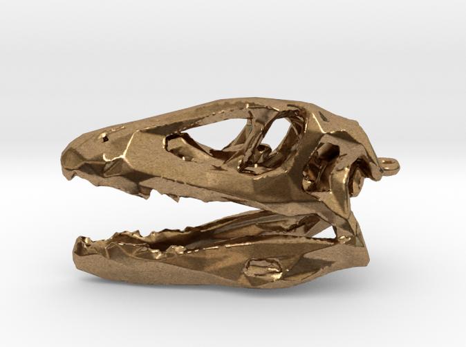 Tarbosaur Dinosaur Lowpoly Pendant