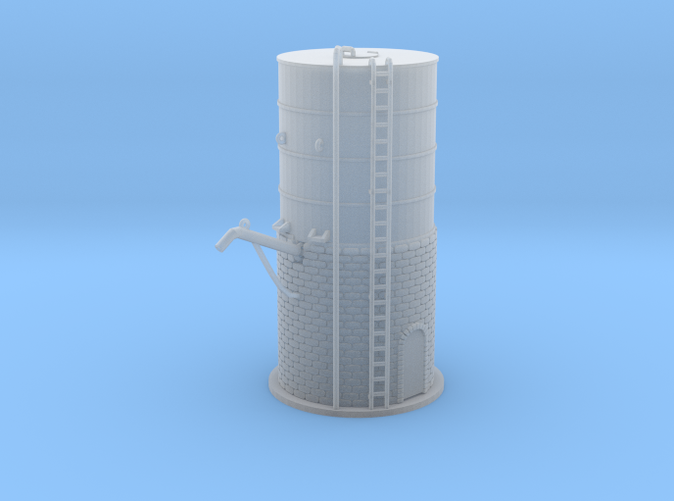 Water Tower 4 Z scale
