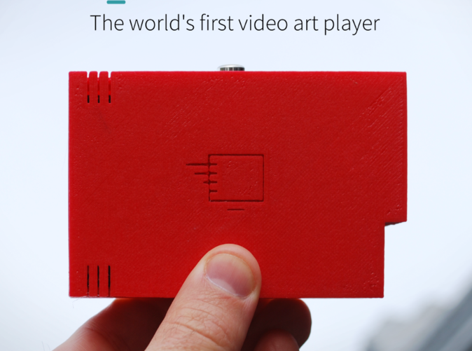 Artbox is the worlds first video art player