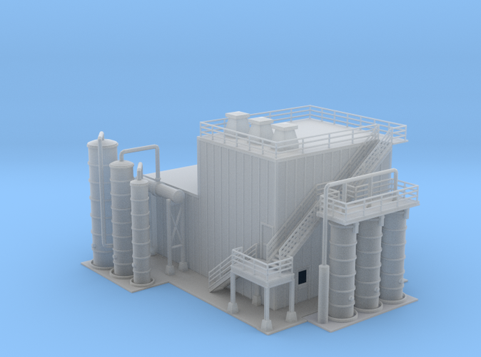 Ethanol Processing Center Facility Building 1 Z scale