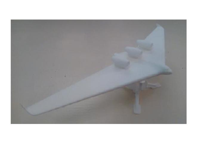 Blended Wing Body Similar to the 797