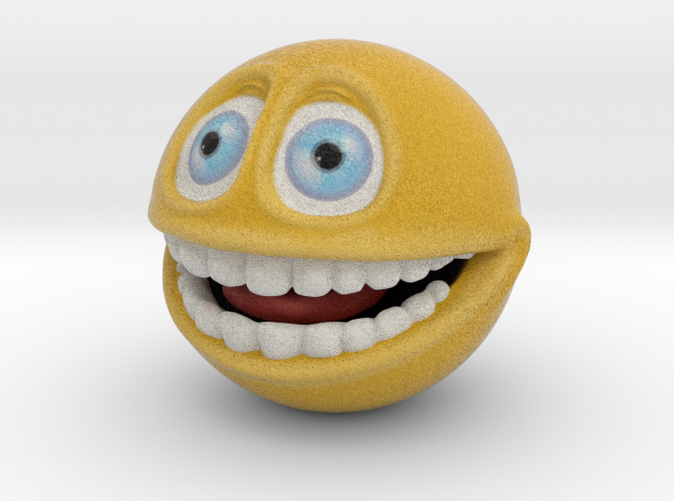 Smiley Face Emoticon, Emoji - Smile (small)