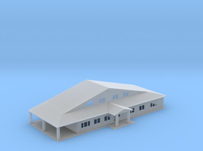 Main Truss Office building Z scale