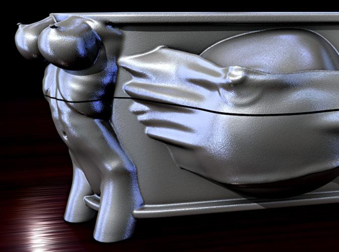 Cash box render.