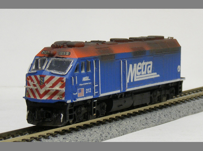 Model built and painted by custom modeler Jeff King of MilwaukeeRoadTrainShop.com.  Photo by Jeff King.
