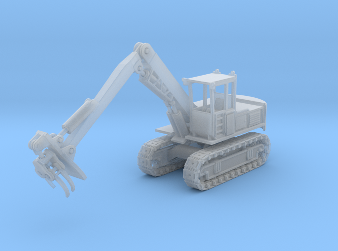 Hitachi Log loader Z scale