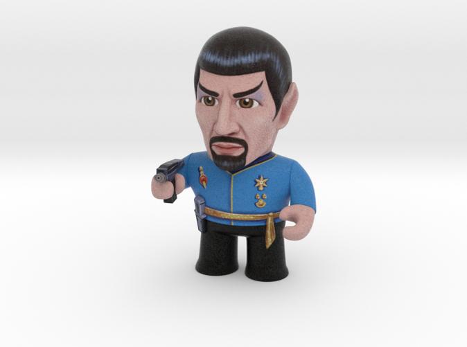 Mirror Spock Star Trek Caricature
