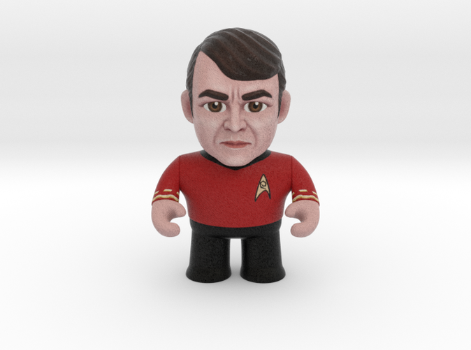 Scotty Star Trek Caricature