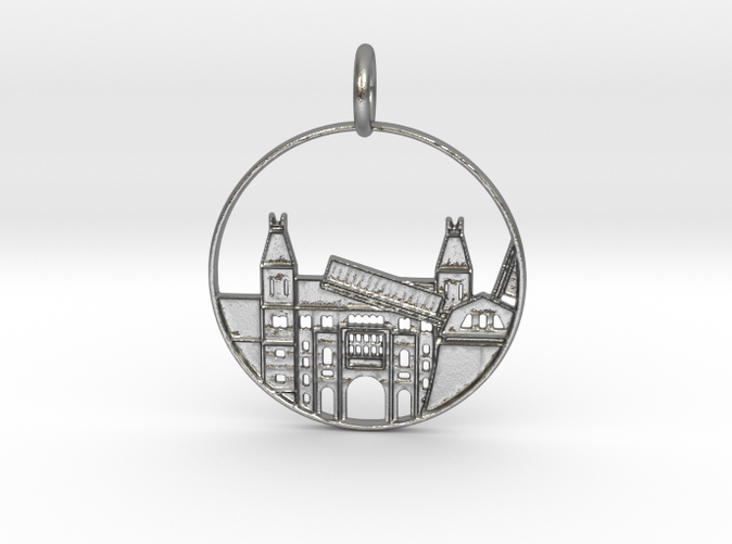 Amsterdam Pendant with Loop (different materials have different prices)