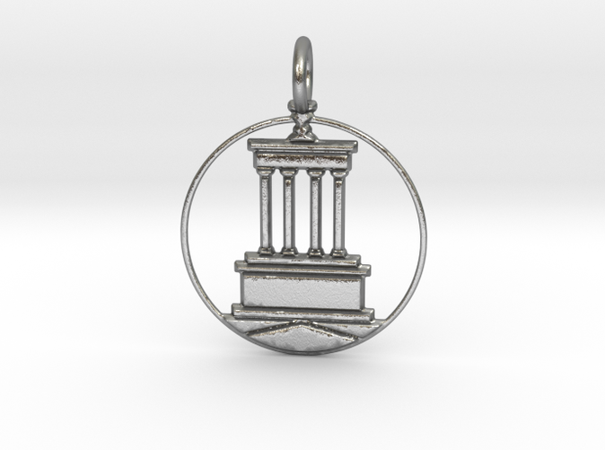 Brooklyn Pendant with Loop (different materials have different prices)