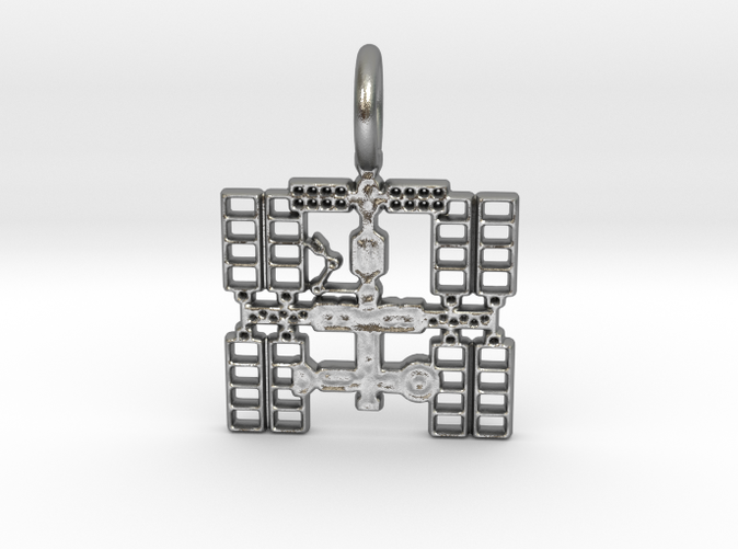 Space Station Pendant (2D)