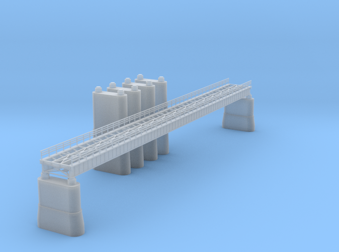 165ft Railroad Bridge Z scale
