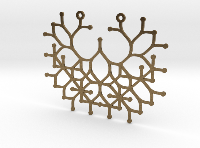 Raw bronze render.