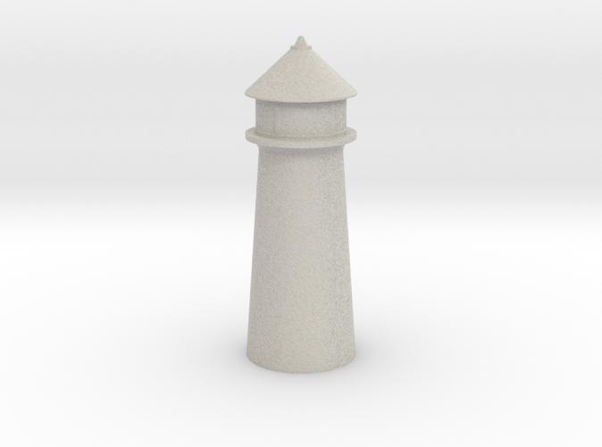Lighthouse Pastel Gray