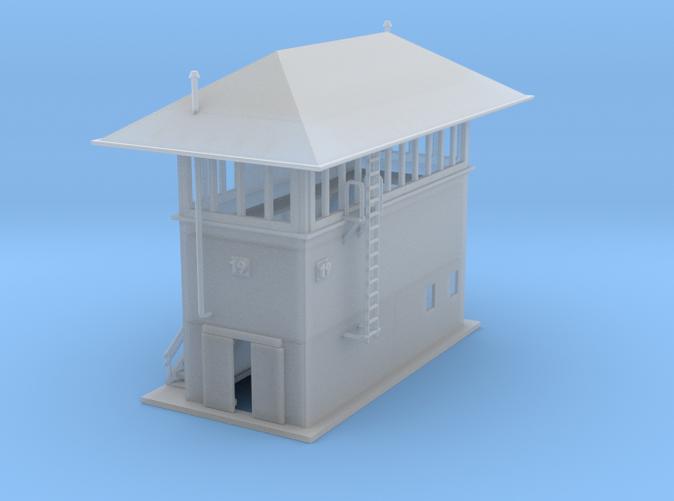 Santa Fe Control Tower Z scale