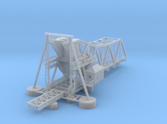 Pamban Bascule Bridge Z scale