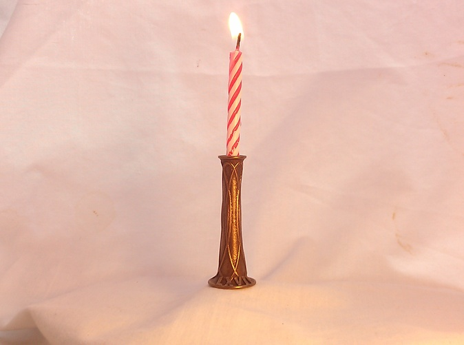 Birthday Candle Holder Customizable Metal C76Q7JCLB By Mrelet